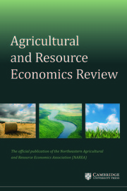 Agricultural and Resource Economics Review Volume 48 - Special Issue3 -  Advances in the Economic Analysis of Food System Drivers and Effects