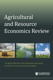 Agricultural and Resource Economics Review Volume 50 - Issue 1 -