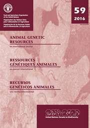 Animal Genetic Resources/Resources génétiques animales/Recursos genéticos animales