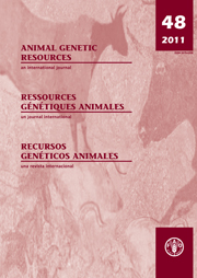 Animal Genetic Resources/Resources génétiques animales/Recursos genéticos animales Volume 48 - Issue  -