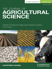 The Journal of Agricultural Science Volume 158 - Issue 8-9 -