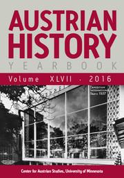 Austrian History Yearbook Volume 47 - Issue  -