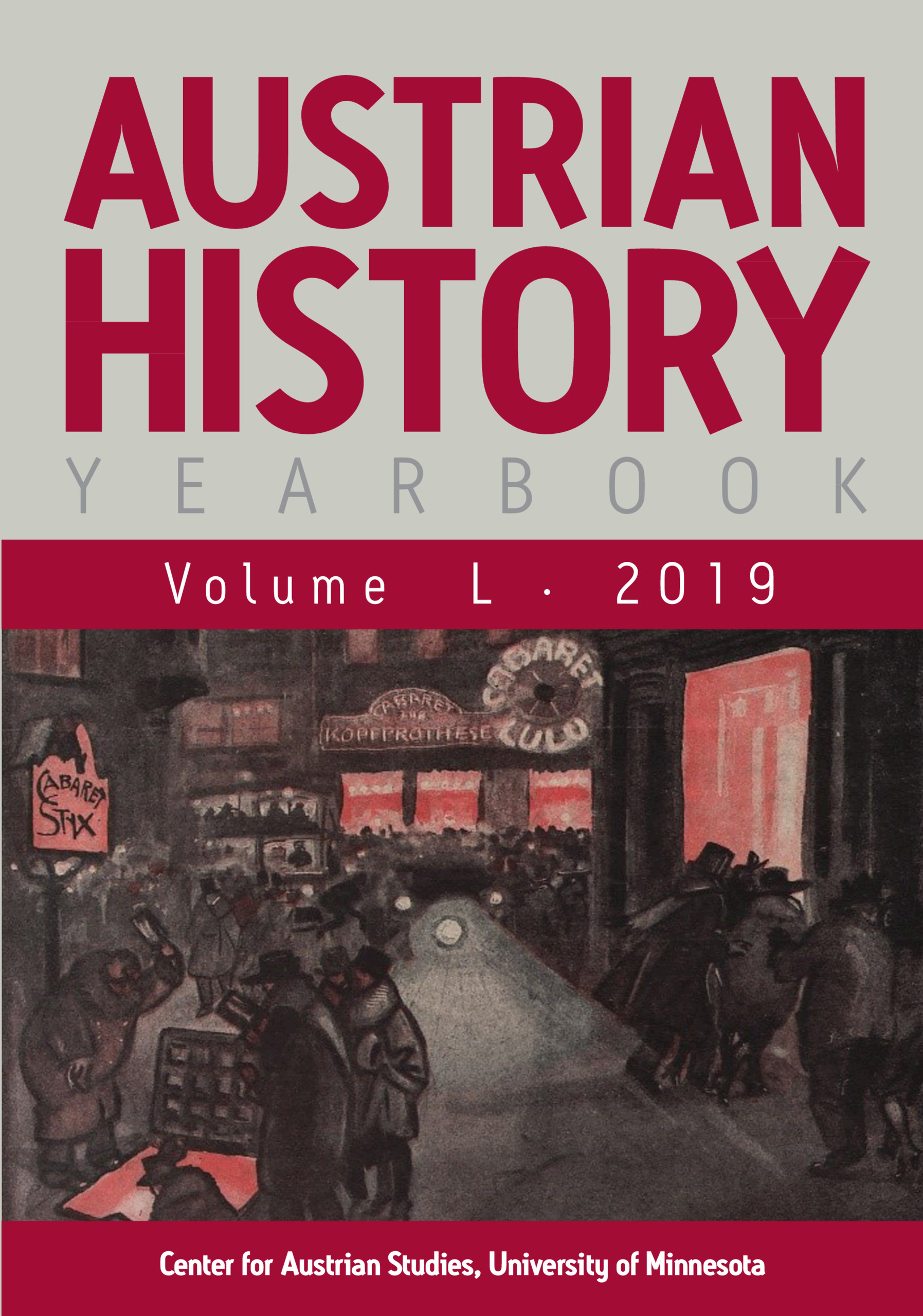 Austrian History Yearbook | Latest issue | Cambridge Core