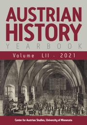 Austrian History Yearbook Volume 52 - Issue  -