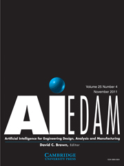 AI EDAM Volume 25 - Issue 4 -  Representing and Reasoning About Three-Dimensional Space