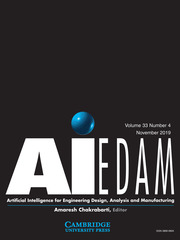 AI EDAM Volume 33 - Special Issue4 -  Intelligent Interaction Design