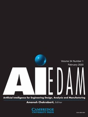"""AI EDAM Volume 34 - Issue 1 -  Thematic Collection on """"Cognitive and Learning processes for transition to Design for Sustainability (DfS)"""""""