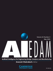 AI EDAM Volume 34 - Special Issue2 -  Thematic Collection: Design Cognition and Computing