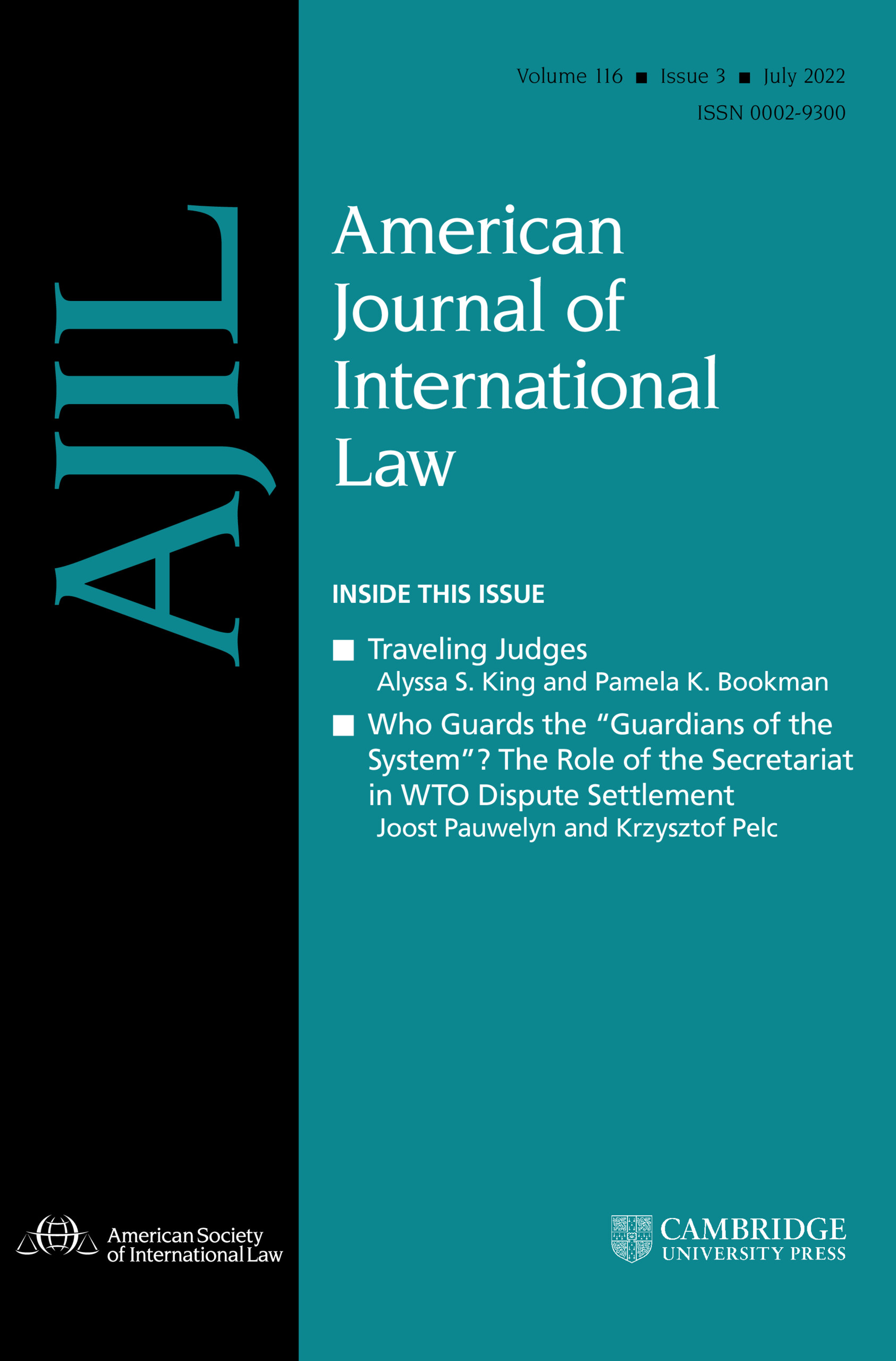 American Journal of International Law | Cambridge Core