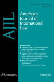 American Journal of International Law Volume 111 - Issue 4 -