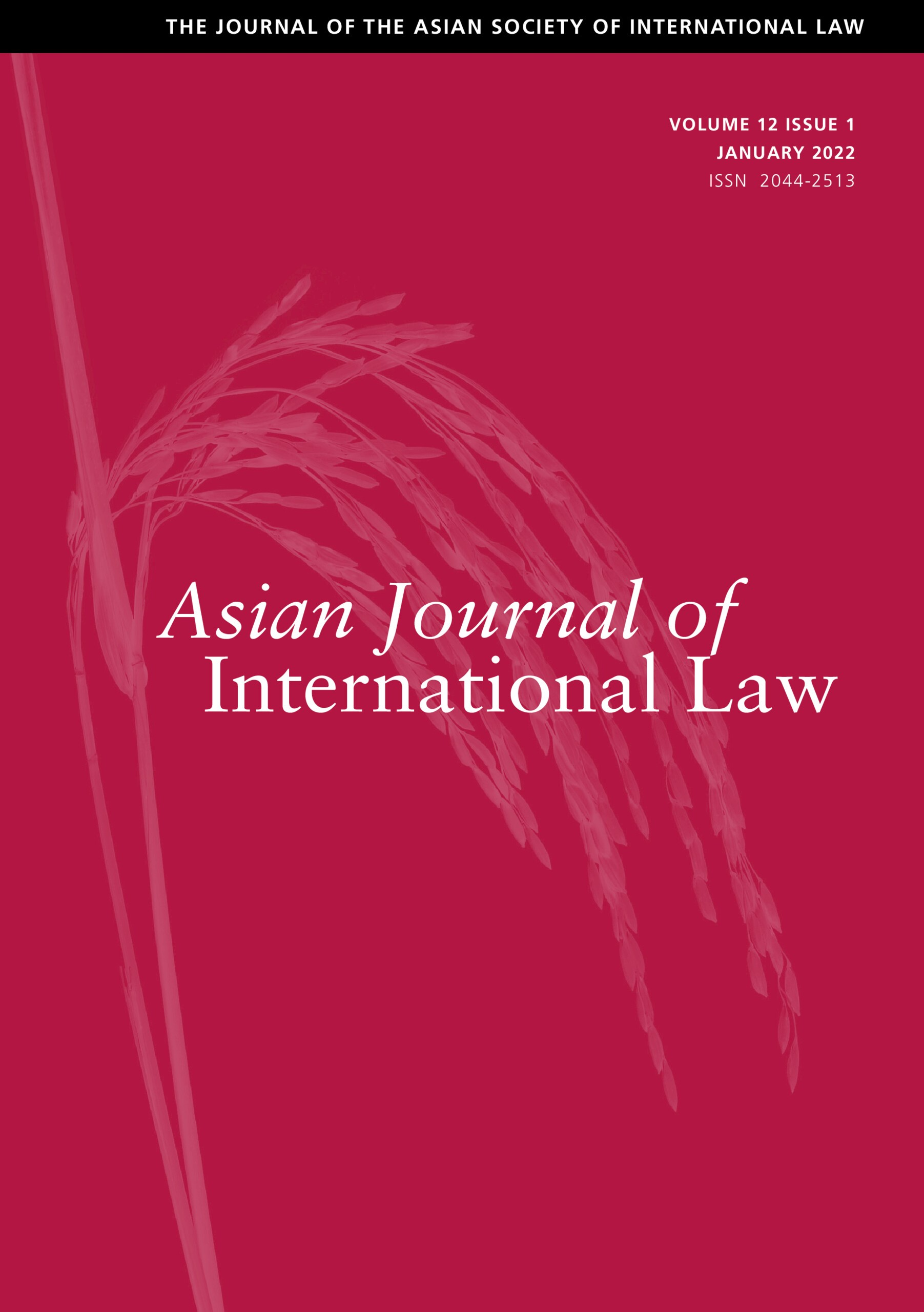 Asian Journal of International Law