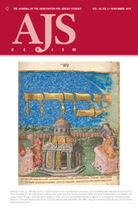 AJS Review Volume 38 - Issue 2 -