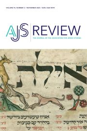 AJS Review Volume 44 - Issue 2 -