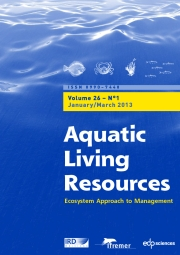 Aquatic Living Resources Volume 26 - Issue 1 -