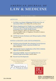 American Journal of Law & Medicine