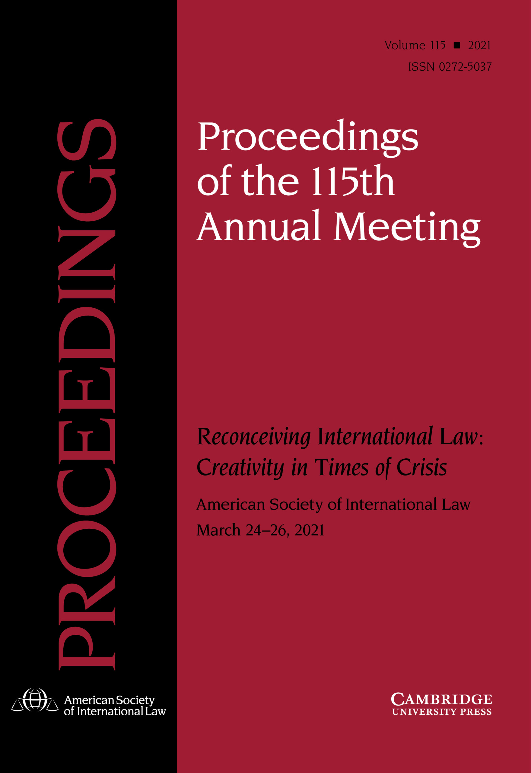 Proceedings of the ASIL Annual Meeting