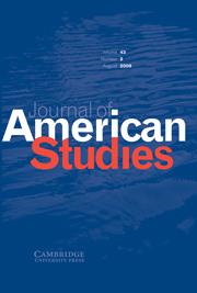 Journal of American Studies Volume 43 - Issue 2 -