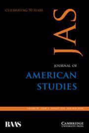Journal of American Studies Volume 50 - Issue 3 -