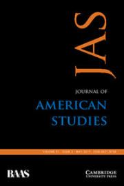 Journal of American Studies Volume 51 - Issue 2 -