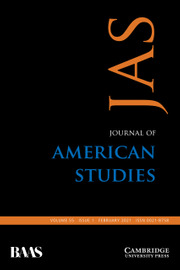 Journal of American Studies Volume 55 - Issue 1 -