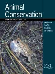 Animal Conservation forum Volume 7 - Issue 3 -