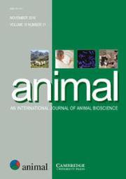 animal Volume 10 - Issue 11 -