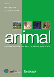animal Volume 12 - Issue 9 -