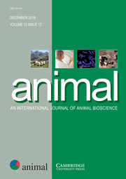 animal Volume 13 - Issue 12 -
