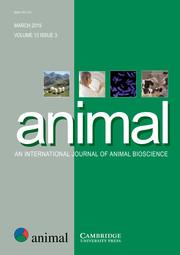 animal Volume 13 - Issue 3 -