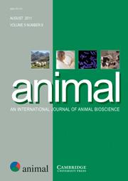 animal Volume 5 - Issue 8 -