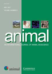 "animal Volume 6 - Issue 5 -  Symposium ""Sustainable animal production in the tropics"" (SAPT), Guadeloupe, France, November 15–18, 2010"