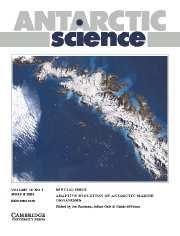 Antarctic Science Volume 16 - Issue 1 -