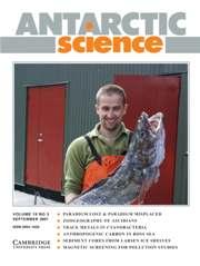 Antarctic Science Volume 19 - Issue 3 -