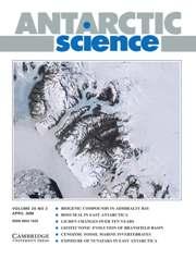 Antarctic Science Volume 20 - Issue 2 -