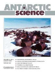 Antarctic Science Volume 21 - Issue 4 -