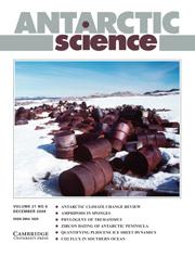 Antarctic Science Volume 21 - Issue 6 -