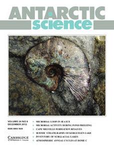 Antarctic Science Volume 24 - Issue 6 -