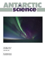 Antarctic Science Volume 30 - Issue 6 -