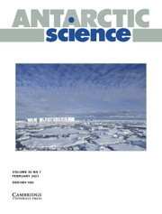 Antarctic Science Volume 33 - Issue 1 -
