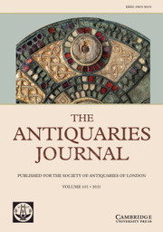 The Antiquaries Journal