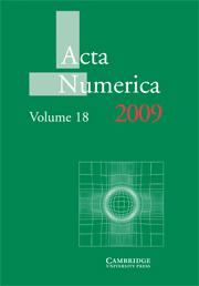 Acta Numerica Volume 18 - Issue  -