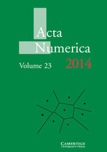 Acta Numerica Volume 23 - Issue  -