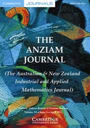 The ANZIAM Journal Volume 52 - Issue 4 -