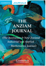 The ANZIAM Journal Volume 53 - Issue 2 -