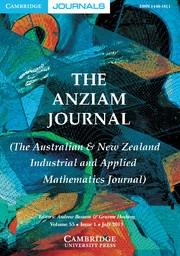 The ANZIAM Journal Volume 55 - Issue 1 -