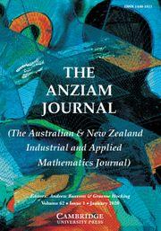 The ANZIAM Journal Volume 62 - Issue 1 -