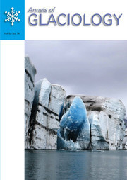 Annals of Glaciology Volume 58 - Issue 74 -
