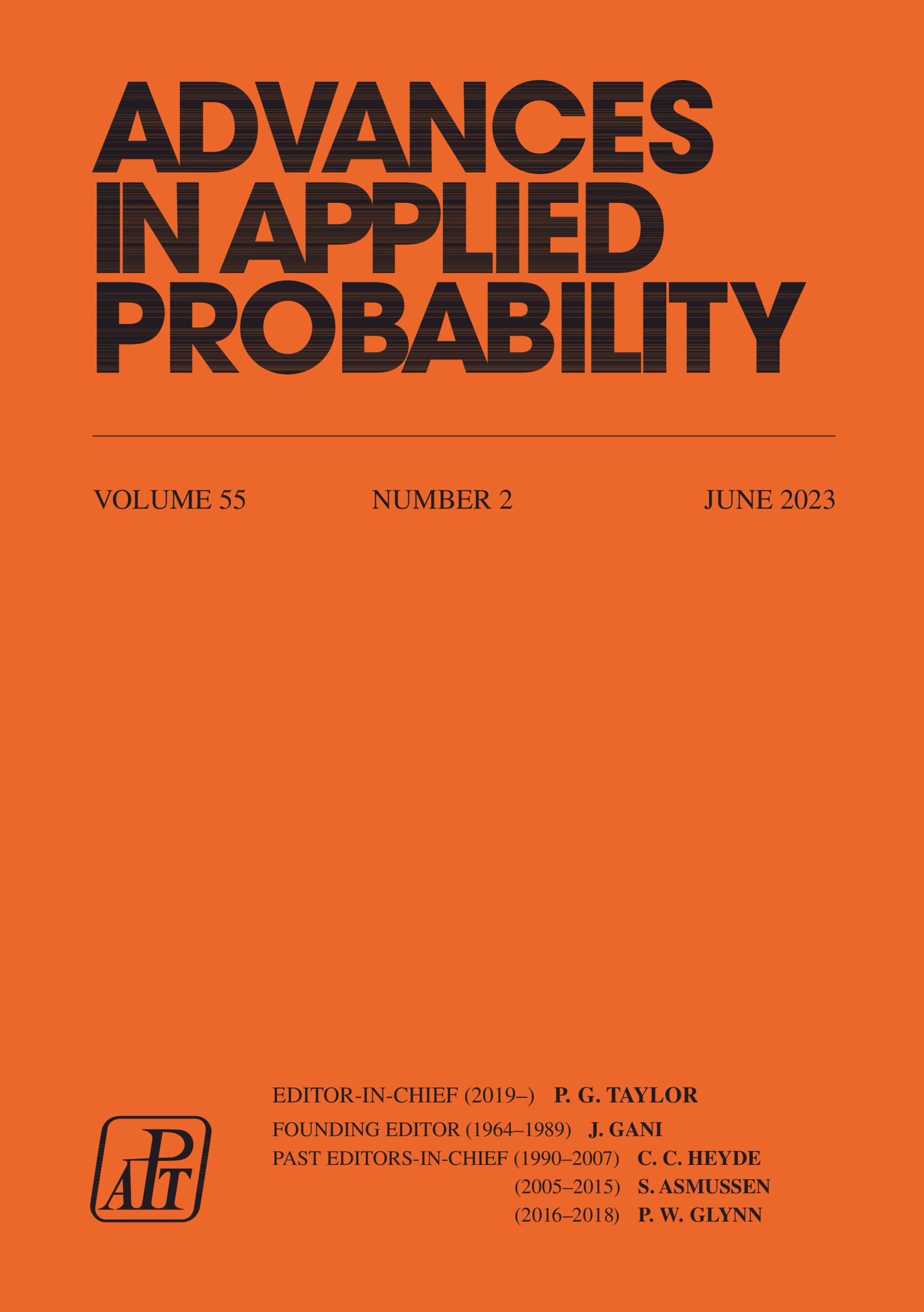 Advances in Applied Probability | Cambridge Core