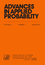Advances in Applied Probability Volume 48 - Issue 1 -