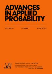 Advances in Applied Probability Volume 49 - Issue 1 -